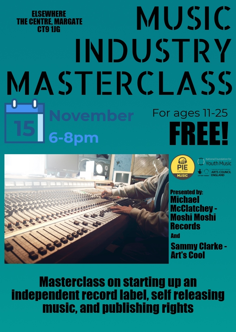 Thanet Emerging Artists Programme update: first masterclass and